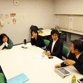 1月10日 大阪 難波 Bコースの様子
