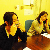 1月12日 神戸 三宮 Bコースの様子