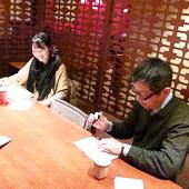 2月6日 大阪 淀屋橋 Aコースの様子