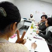 2月14日 大阪 難波 Bコースの様子