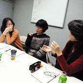 2月18日 大阪 東淀川 新大阪 Cコースの様子