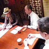 3月6日 大阪 淀屋橋 Aコースの様子