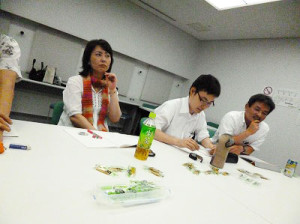 7月25日 大阪 難波 Bコース