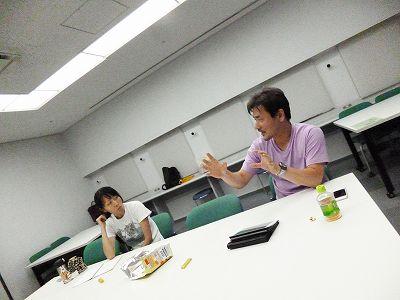 8月7日 大阪 難波 Bコース