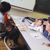 12月9日 大阪 東淀川 キッズ親子コースの様子