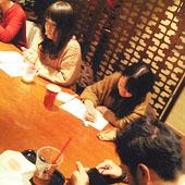12月12日 大阪 淀屋橋 Aコースの様子