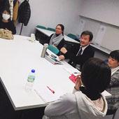 12月13日 大阪 難波 Bコースの様子