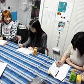 1月25日 大阪 茨木 Aコースの様子