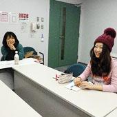 1月31日 大阪 難波 Aコースの様子