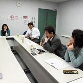 1月31日 大阪 難波 Bコースの様子