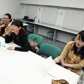 3月7日 大阪 難波 Aコースの様子
