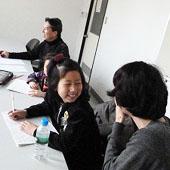 3月17日 大阪 東淀川 キッズ親子コースの様子