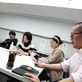 3月28日 大阪 難波 Bコースの様子
